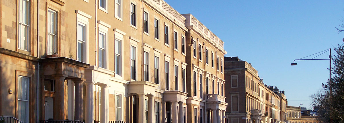 Woodside Terrace in Glasgow as representing a G3 area mentioned in the article