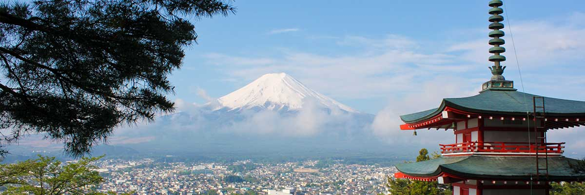 Image of Japan and Mount Fuji to go with End of Abenomics news post