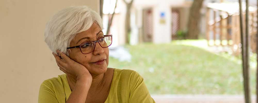mature woman to go with pension transfer article