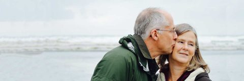 Mature couple pictured to go along with pension post